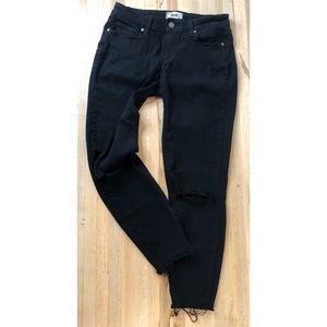 Paige Black Verdugo crop jeans